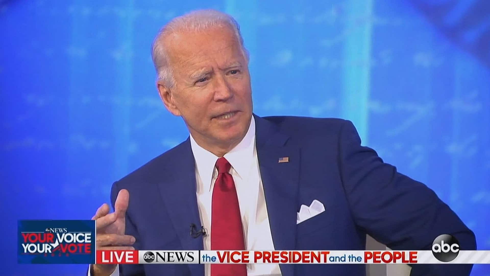 Joe Biden tops Donald Trump in town hall viewers, ratings show