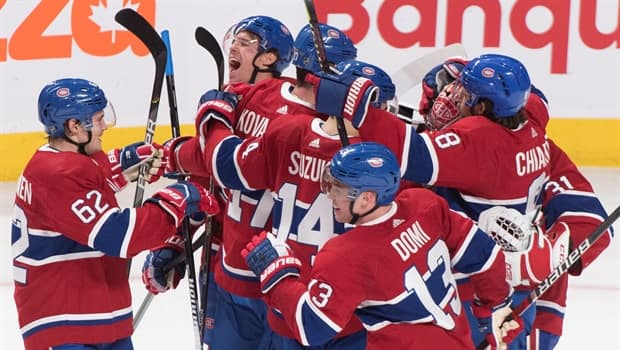 Canadiens Hold Off Vegas As Tomas Tatar Notches Dramatic So Winner Cbc Sports