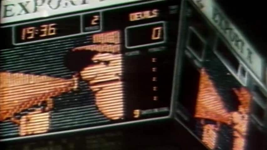 Animating The Saddledome Scoreboard Of The 1980s Cbc Archives