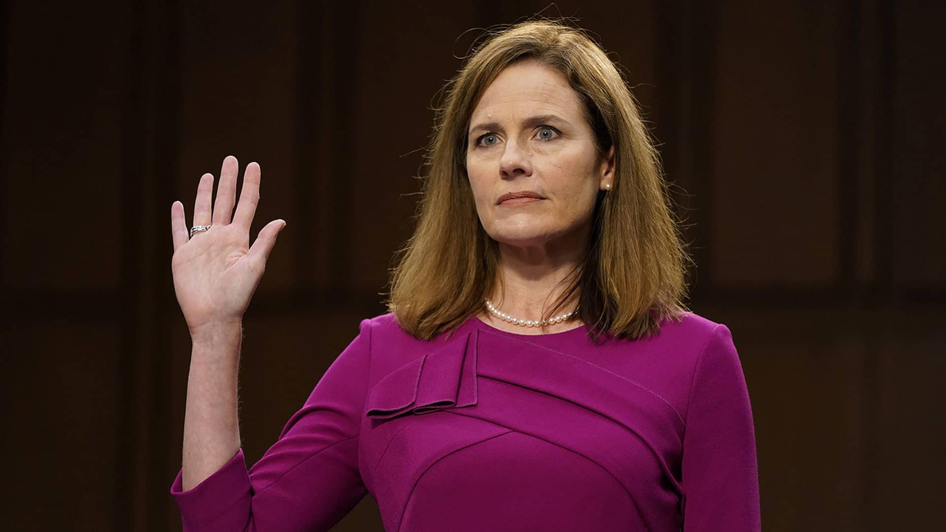 Senators clash in opening of Barrett confirmation hearing