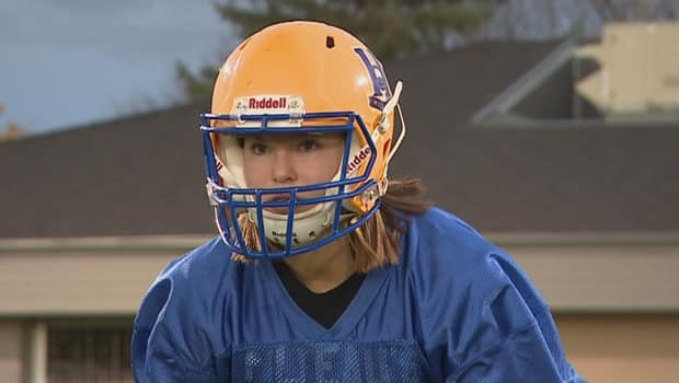 Football pioneer Emmarae Dale meets her moment in history