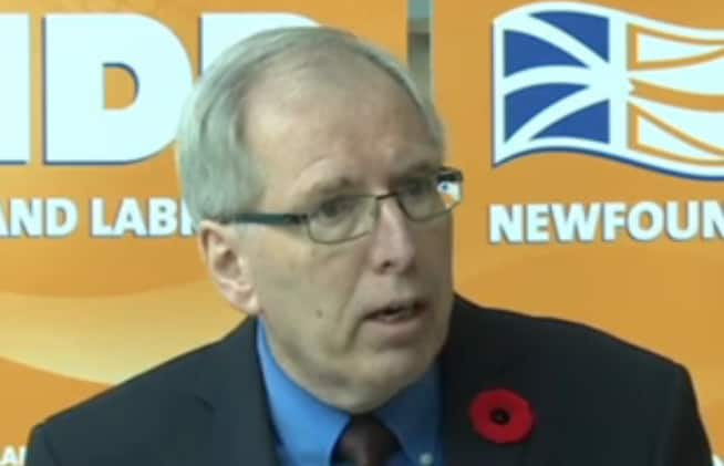 'The NDP is on your side': Earle McCurdy launches NDP campaign