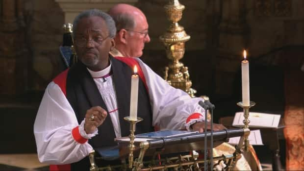 Michael Curry Royal Wedding.Bishop Michael Curry Gives Love Sermon At Royal Wedding