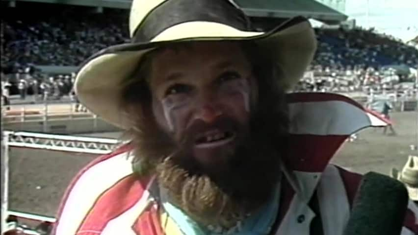 Cbc Player Not His First Rodeo Clown Explains Tricks Of