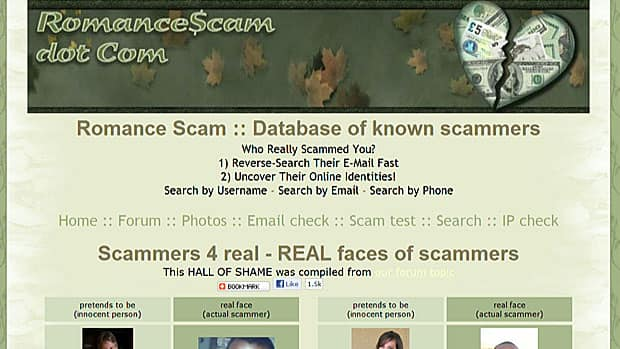 Online dating scam costly for women