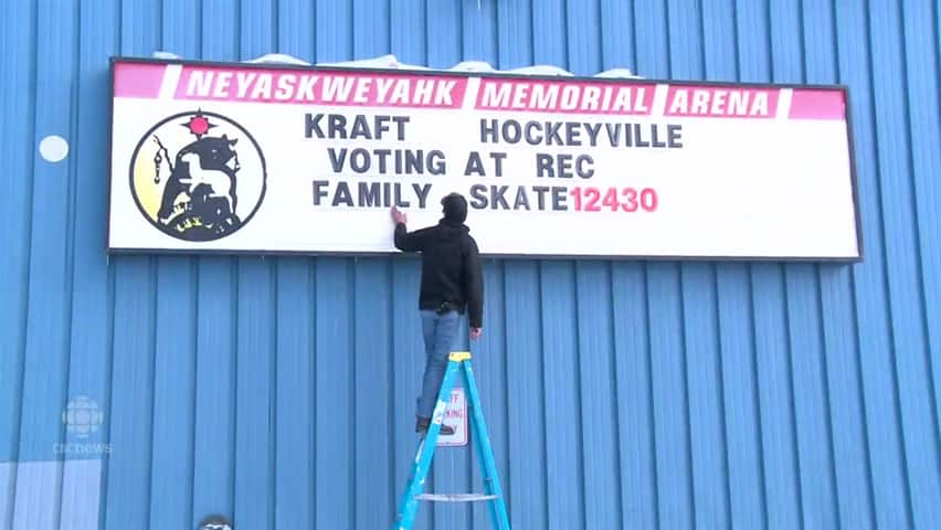 Maskwacis vying for Kraft Hockeyville money to improve their rink
