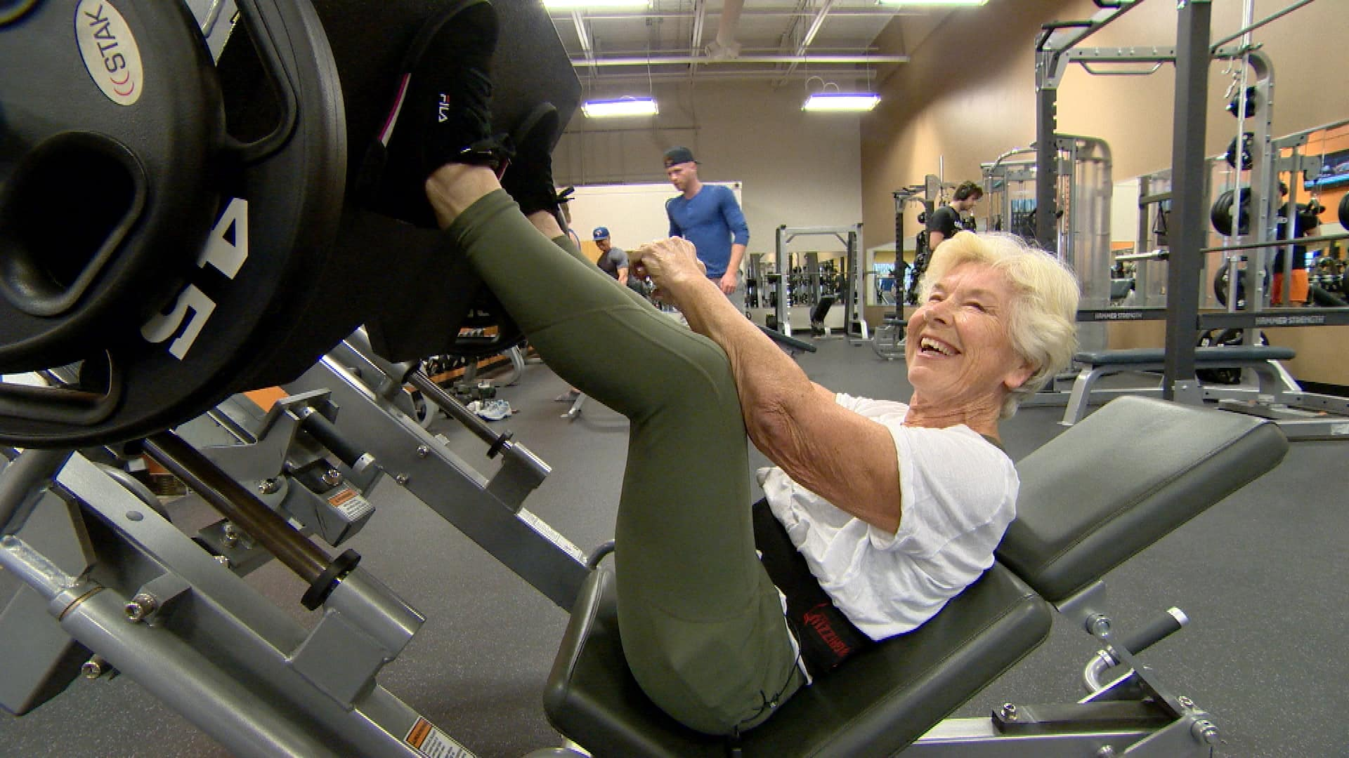 I Was Slowly Dying Now I M Going To Live Fitness Guru 73 Has 119 000 Instagram Followers Cbc News