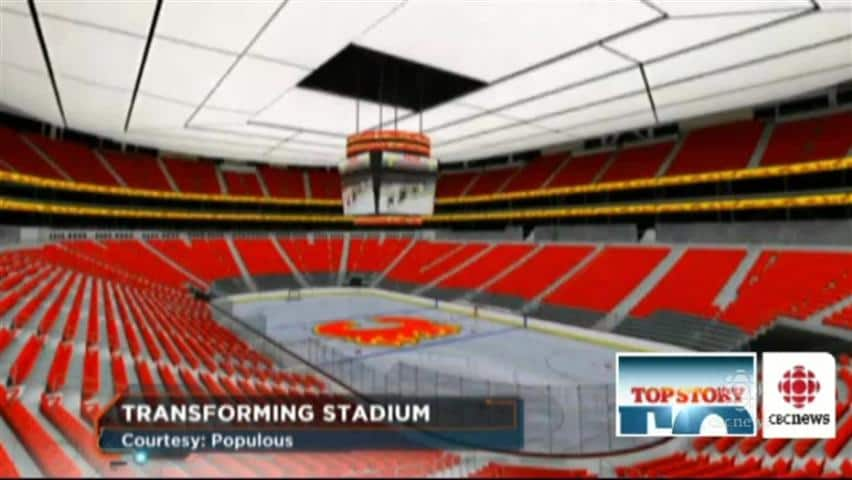 New Flames Arena Not Imminent Cbc Player