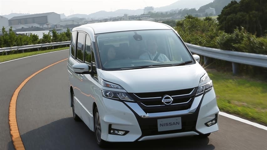 Nissan unveils new self-driving car