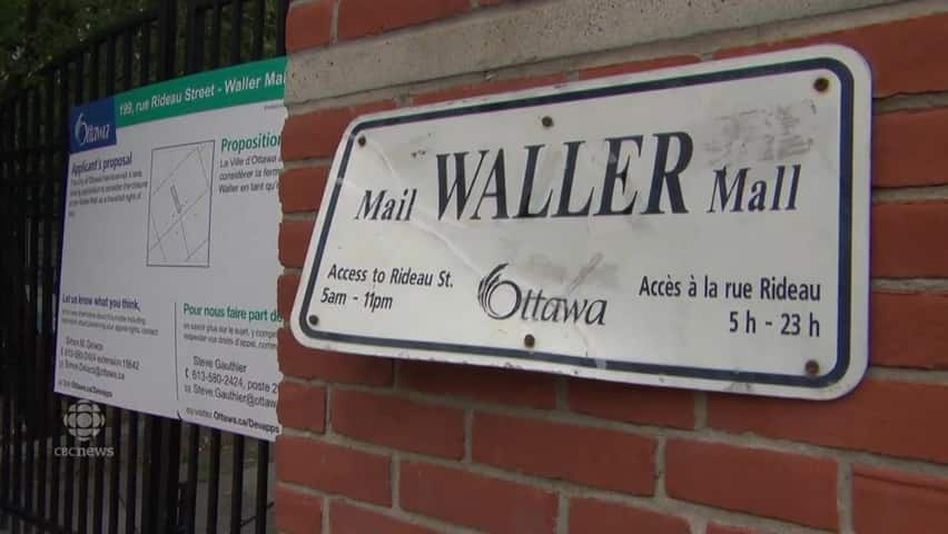 ByWard Market walkway could get new look