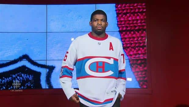 sale retailer 5434a c5a90 P.K. Being P.K.: Subban uses catwalk strut to 'model' Winter ...