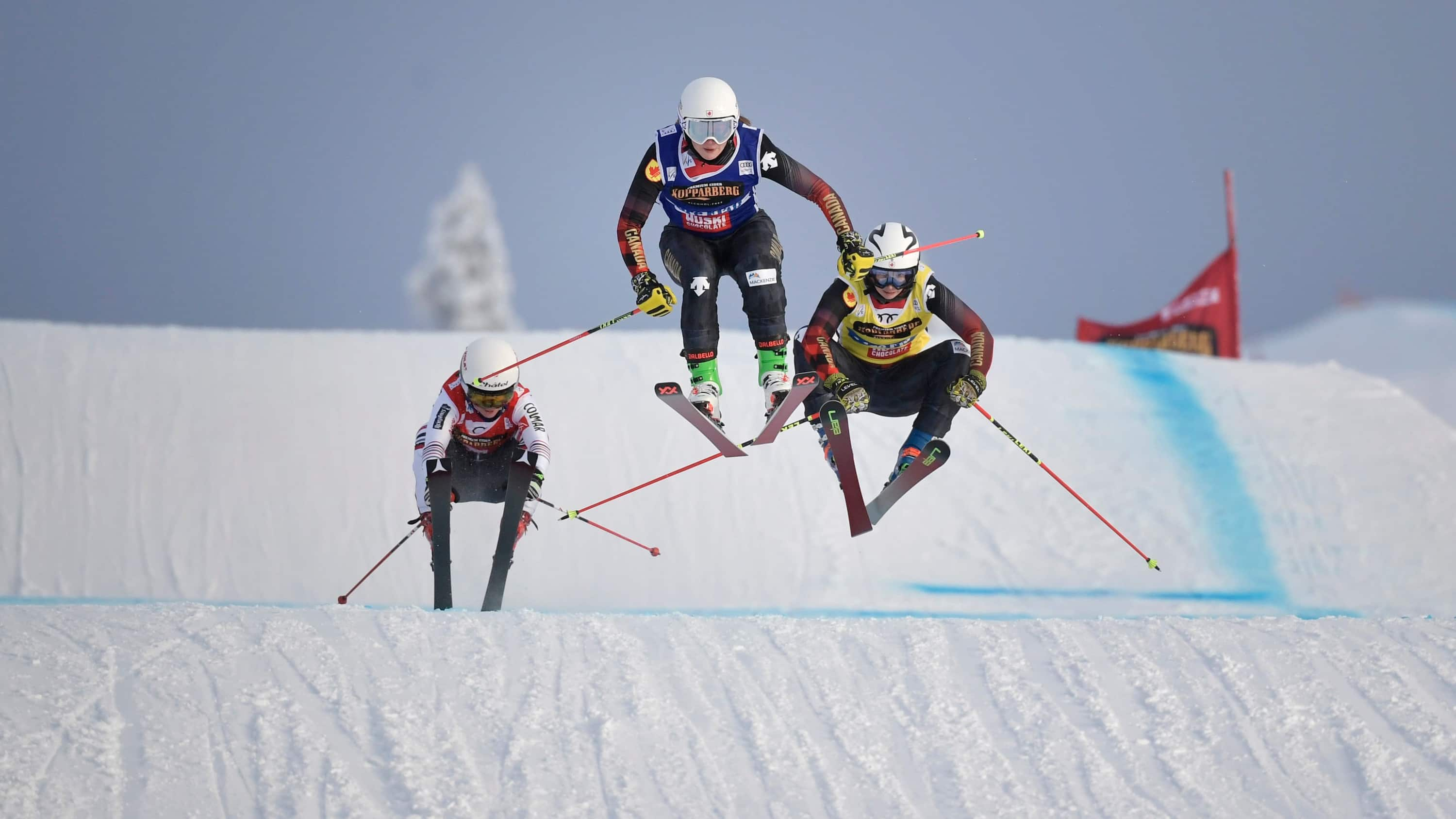 Canada's Courtney Hoffos claims ski cross World Cup bronze