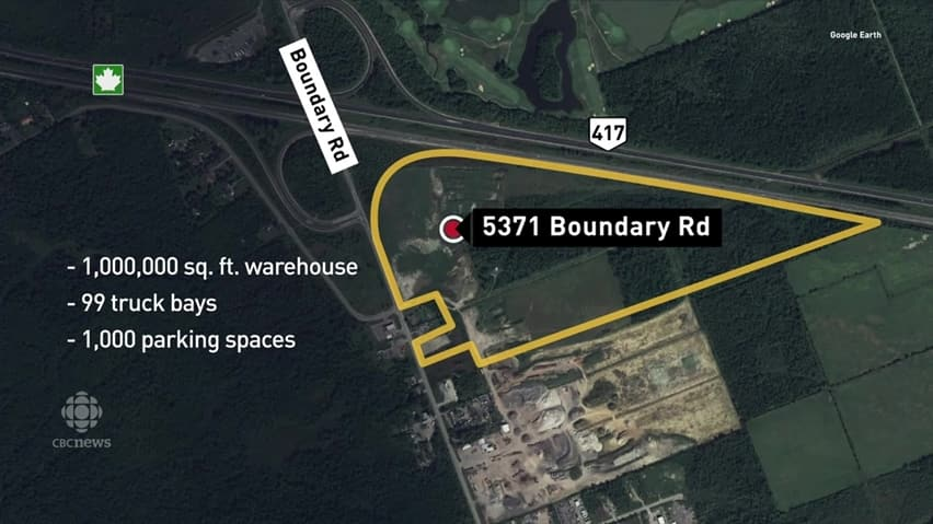 Amazon to bring 1,000 jobs to Ottawa with new warehouse | CBC News