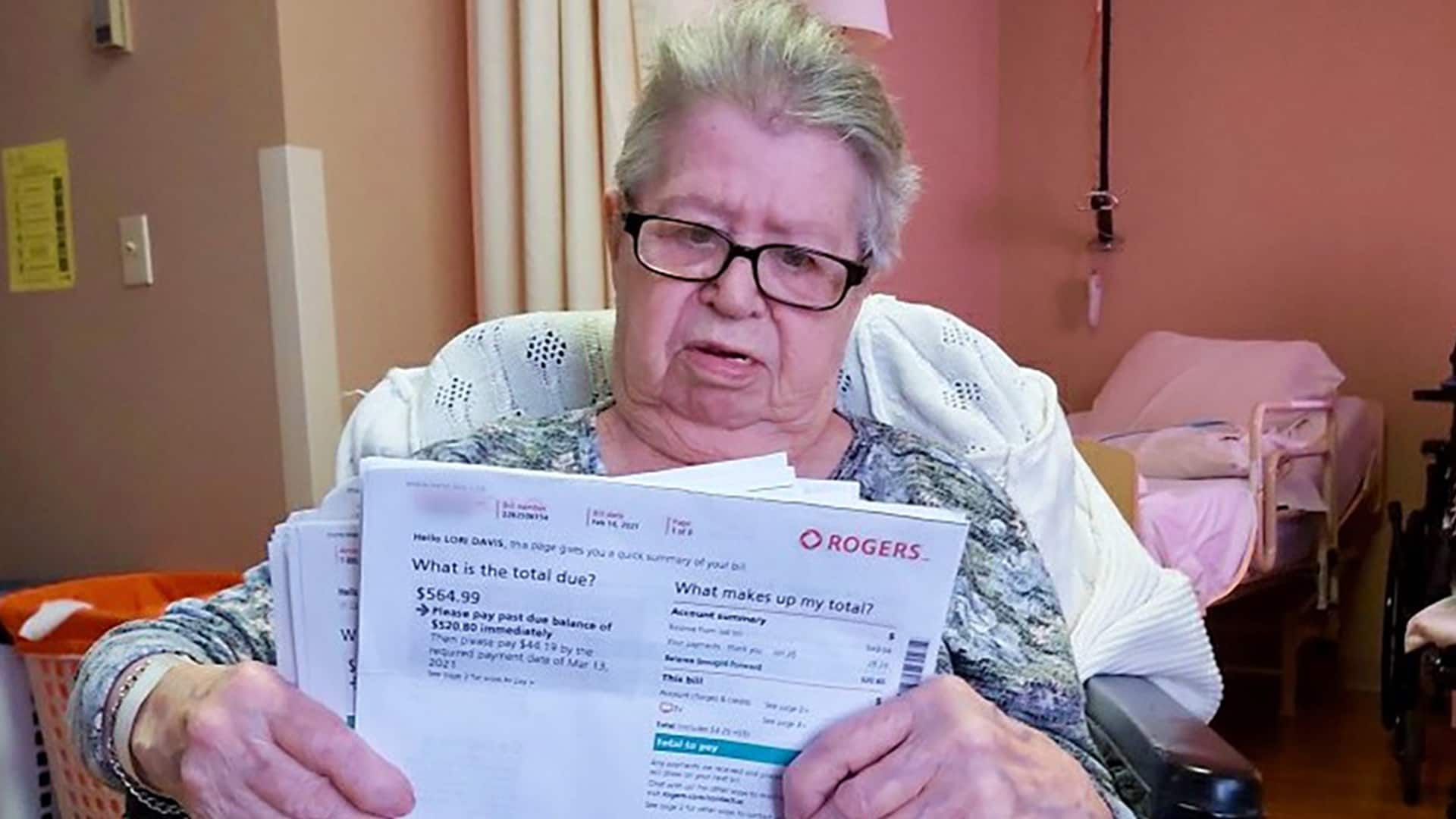 Rogers fines 91-year-old woman unable to return equipment due to lockdown
