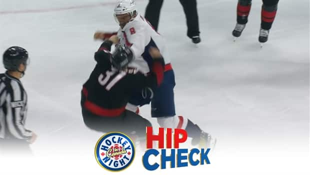 Hip Check Ovechkin Knocks Out 19 Year Old Andrei Svechnikov Cbc
