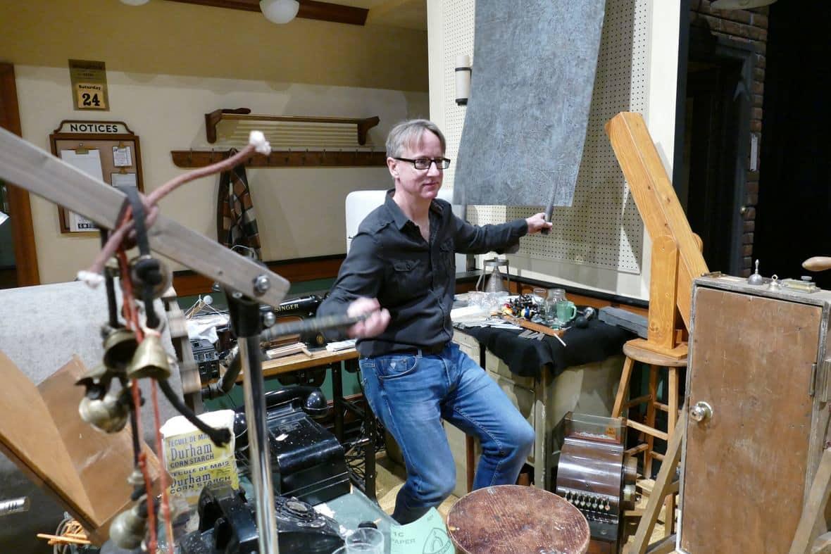Sound designer explains the art of 'foley' - CBC Player