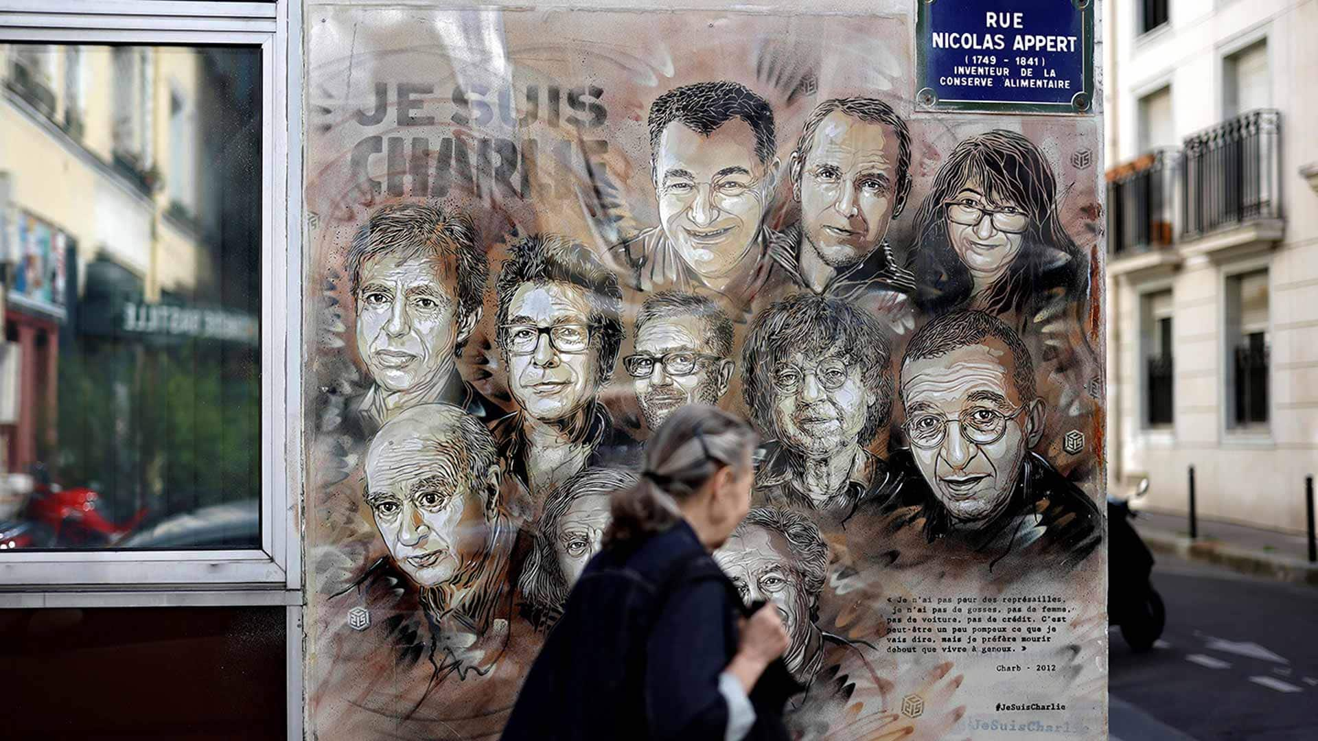 Charlie Hebdo Republishes Controversial Cartoon Ahead Of First Trial For 2015 Terror Attacks Cbc News
