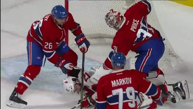 Carey Price is fed up with crease crashers