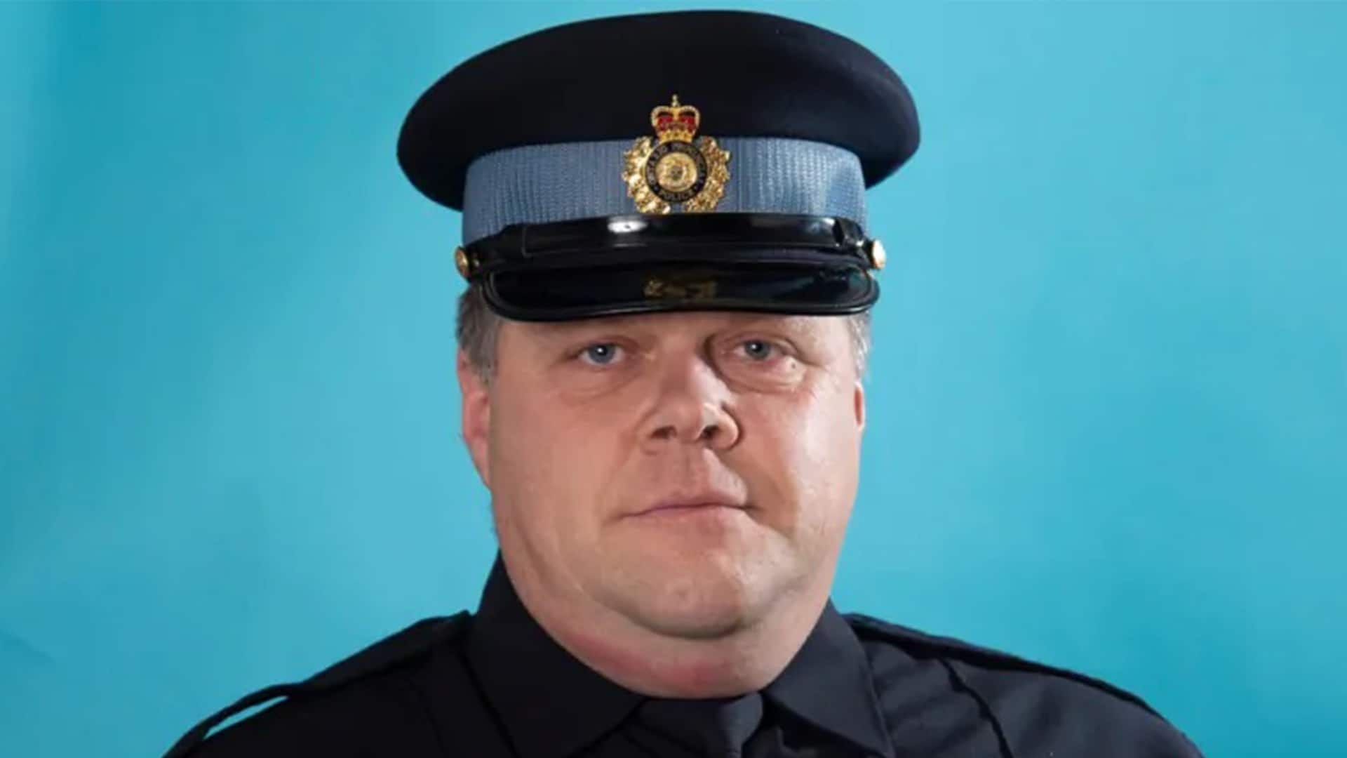 Funeral today for slain Ontario Provincial Police officer Marc Hovingh