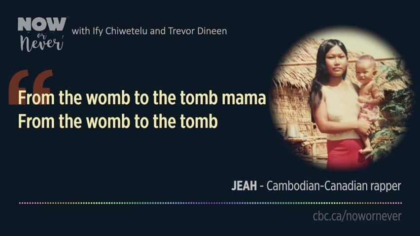 Cambodian-Canadian rapper Jeah