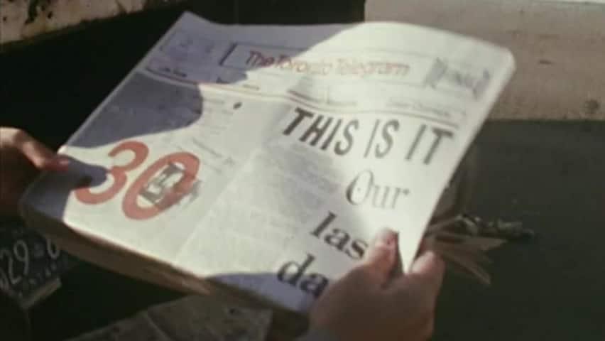 The Toronto Telegram folds in 1971