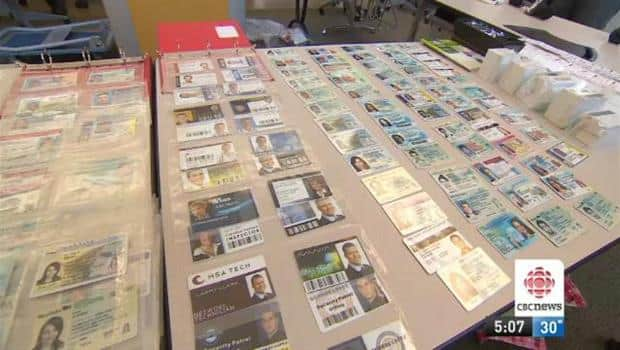 Police Targets Probe Id Retailer 'novelty' Cbc Toronto News Fake