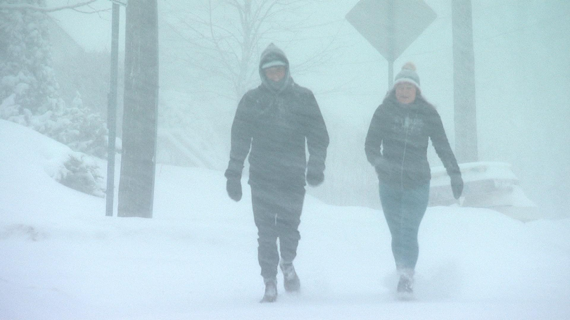 Snow, rain and high winds Struck Maritimes, causing power outages across the Area thumbnail
