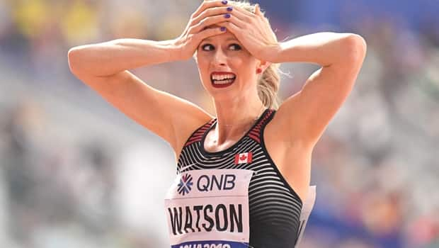 Sage Watson sets national record in 400m hurdles advances to final Sports1 year agoVideo3:48