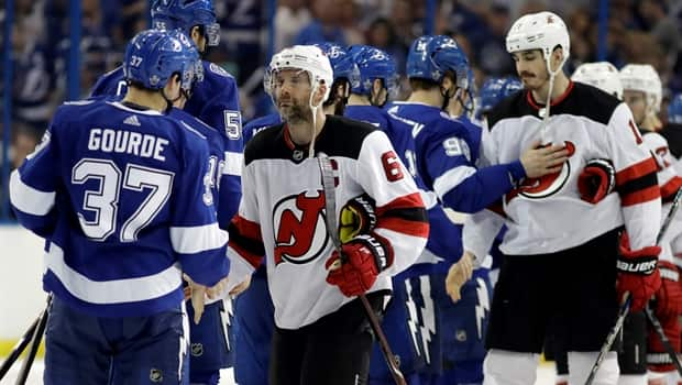 buy popular 95428 68add Game Wrap: Tampa Bay Lightning eliminate the New Jersey Devils