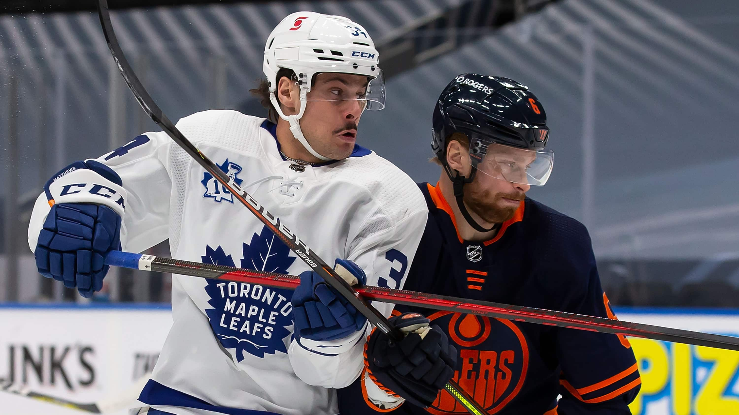 McDavid tips the scales for the Oilers