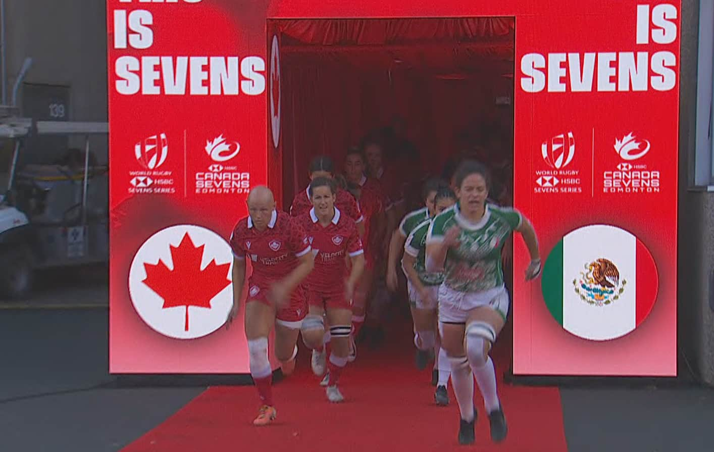 Canadian women's team beats Mexico to win bronze at Edmonton 7S Rugby Championship