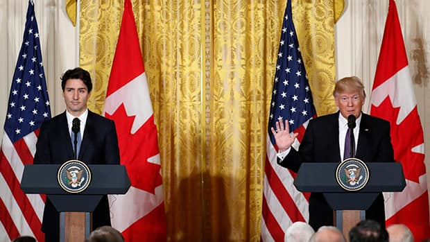 Image result for ValueMags: Trudeau meets Trump