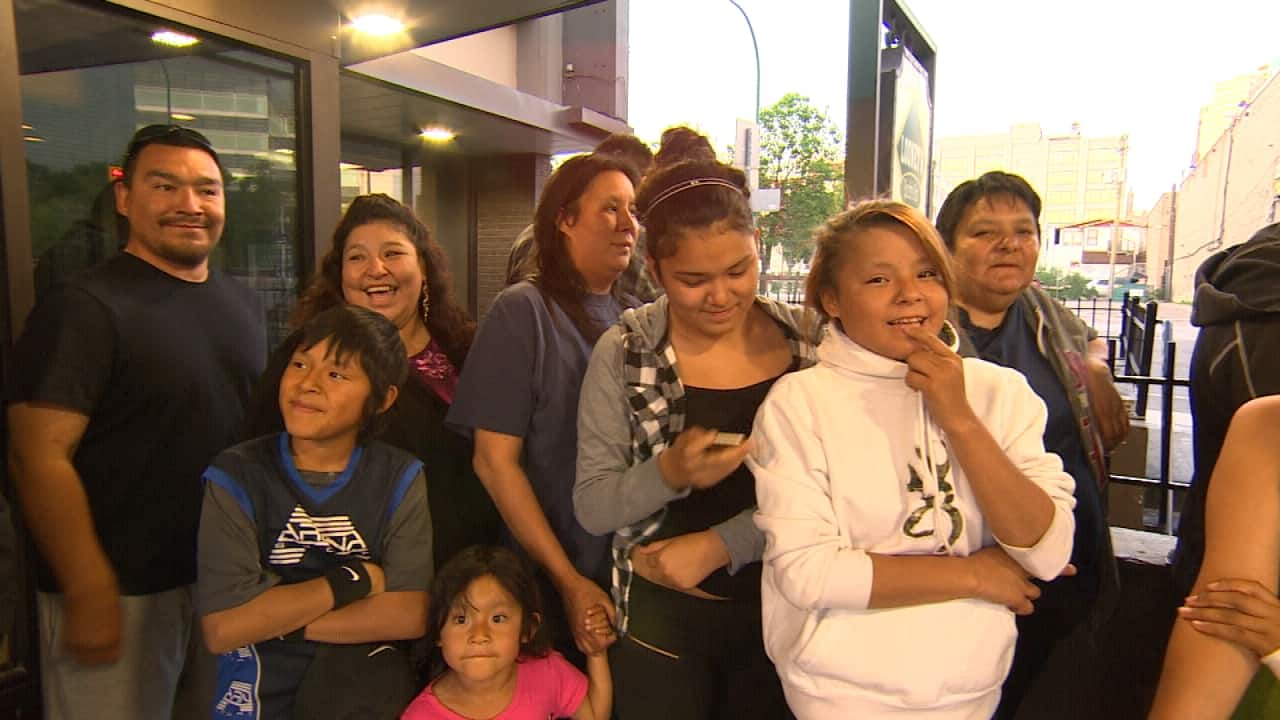 easterville  chemawawin cree nation forest fire evacuees
