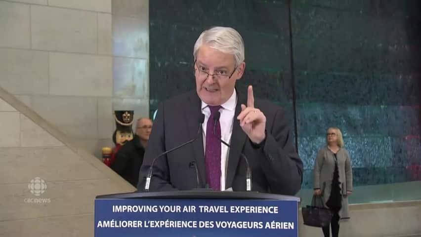 Garneau's top five improvements for passengers