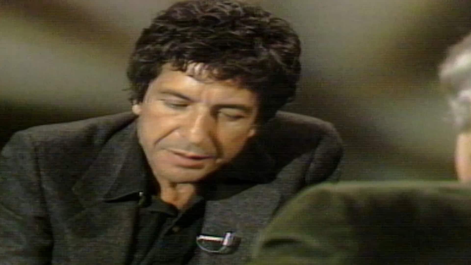 "Leonard Cohen recites ""The Rest is Dross"""