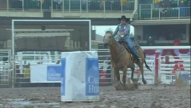 67 Year Old Mary Berger Takes The 100 000 In Barrel