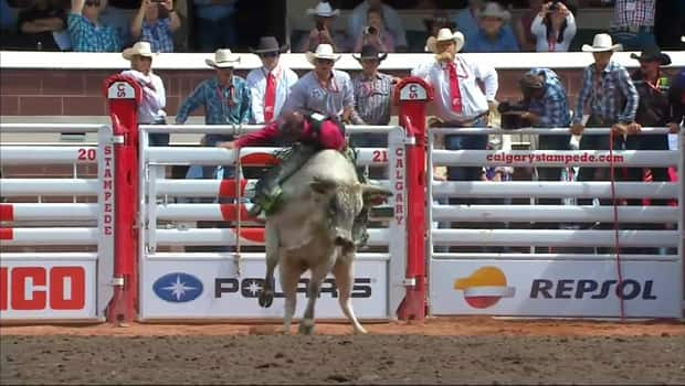 Calgary Stampede Rodeo Day 1 1st Place For Dakota Buttar