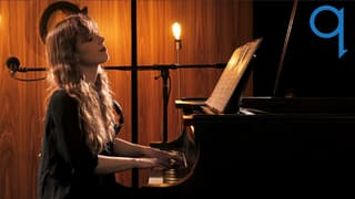 Keyboardist Robin Hatch shares new music live in the q studio