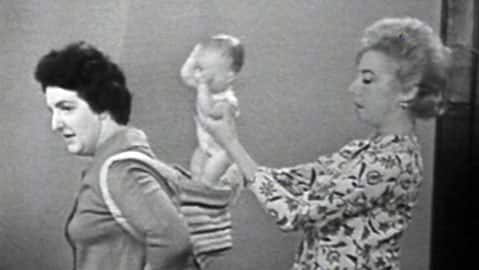 Digital Archives - 'Baby toting' in 1963