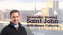 Information Morning - Saint John - Is Somebody Singing - Chris Hadfield and Ed Robertson for Nancy Greenlaw
