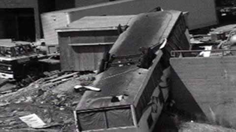 Digital Archives - Freak tornado kills six in Sudbury
